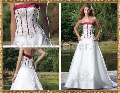 Hochzeitskleid Mit Rot by Hochzeitskleid Weiss Rot