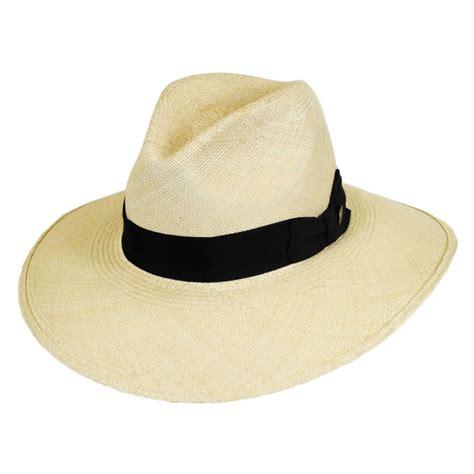 Hats To You by Stetson Destiny Panama Straw Wide Brim Fedora Hat Panama Hats