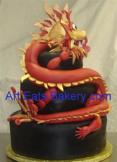 Home Decor In Greenville Sc by Chinese Themed Custom Fondant Wedding And Groom S Cakes