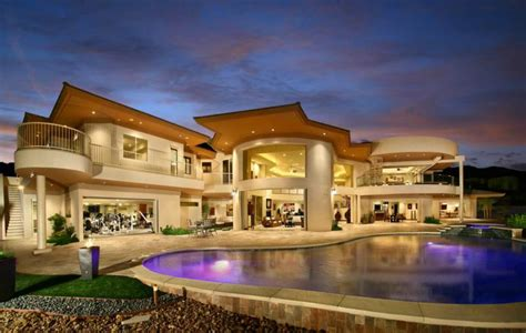 extreme houses mitchell bobrow custom home builder just completed las vegas most unique high end
