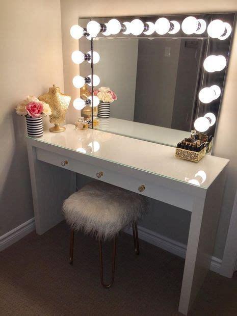 diy makeup vanity plans 25 best ideas about diy vanity mirror on pinterest