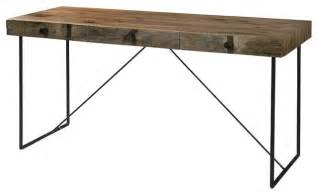 wright industrial desk industrial desks and hutches new york by zin home