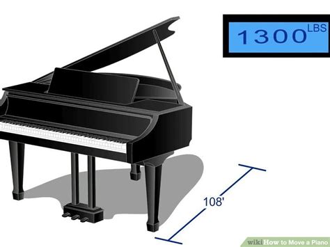 how to move a baby grand piano across a room 4 ways to move a piano wikihow