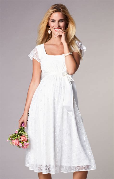 Wedding Dress Clothing by Florence Maternity Wedding Dress Ivory Maternity