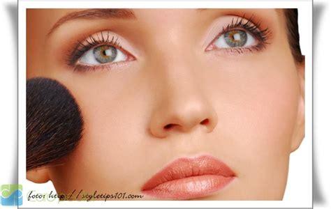 tutorial makeup wajah natural alami freedom blog cara dandan natural make up alami