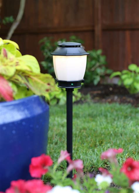 Mosquito In Backyard by Patio Makeover Mosquito Repellent Outdoor Lighting System