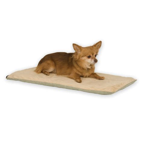 Heated Pet Mat by K H Thermo Pet Mat 14 Quot X 28 Quot Mocha Pet