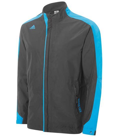 Jaket Waterproof Adidas Polos adidas mens climaproof tex 3 stripes jacket golfonline