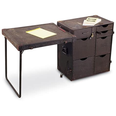 used u s field desk 106285 field gear at