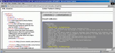 xsl pattern query discover isapi xml way codeproject