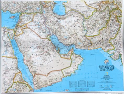 middle east map national geographic mapscom gt asia fronteras hidrografa