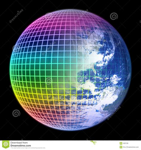 what color is earth earth globe color frame royalty free stock image image