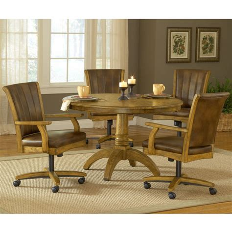 hillsdale grand bay medium oak dining set with