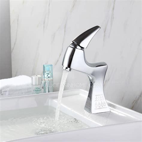 designer bathroom faucets designer chrome one handle brass bathroom faucets