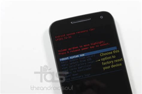 factory reset the moto g restore moto g 3rd gen with factory reset the android soul
