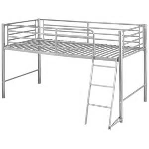 Cabin Bed Frames Silver Finish Childrens Cabin Bed Frame Mid Sleeper Sleep