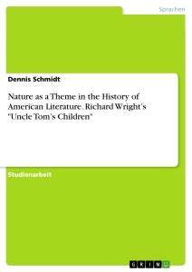 themes in literature about nature nature as a theme in the history of american literature