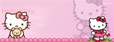 kitty playing  butterfly pink fb cover