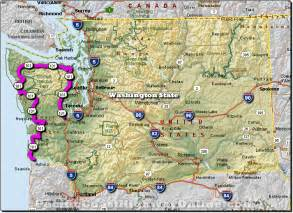 pacific coast highway washington state map travel