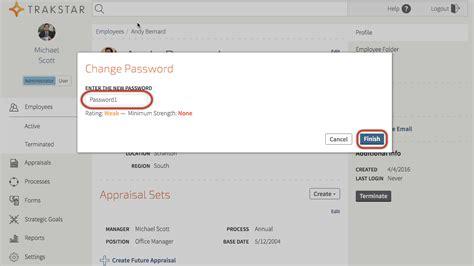 reset anz online password how to reset a user s password trakstar