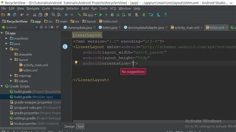 android xml layout editor online android studio xml editor autocomplete not working with