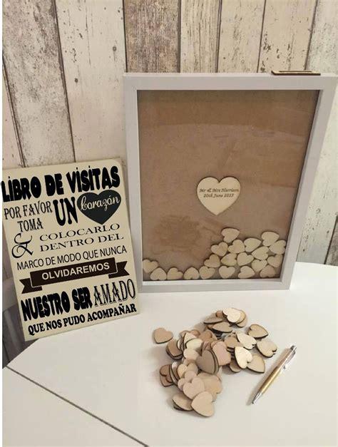 cuadro de firmas para boda marco de firmas en corazones para boda xv baby shower