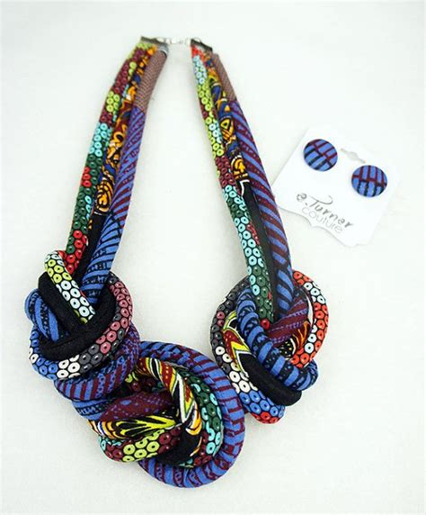 diy african rope necklace beautiful african rope necklace https www etsy com