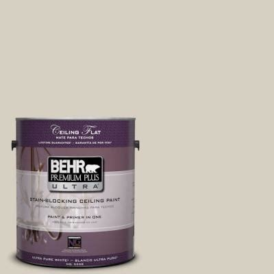 behr premium plus ultra 1 gal ppu7 9 ceiling tinted to aged beige interior paint 555801 the