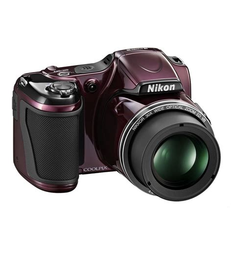 nikon point and shoot nikon l820 advance point and shoot plum by nikon