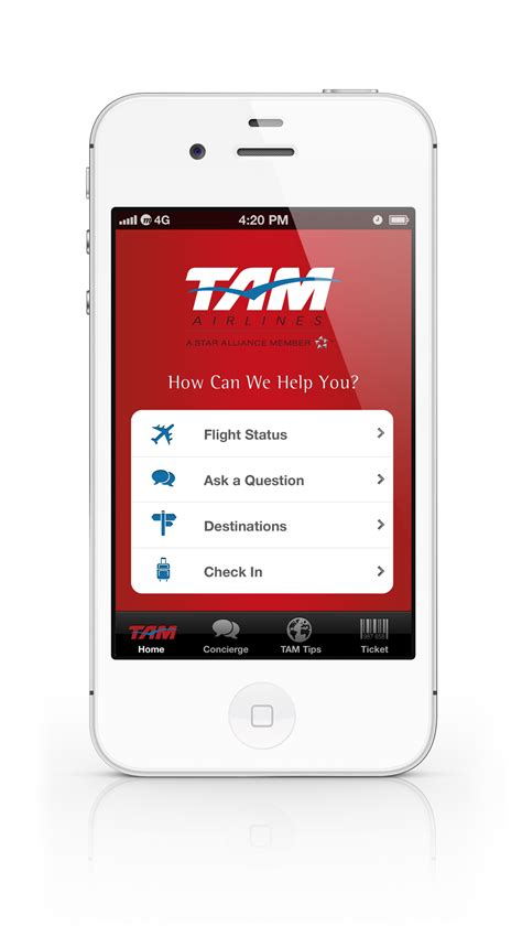 airways mobile tam airlines mobile app on behance