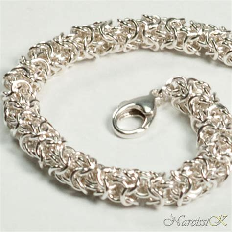 Handmade Silver Bracelets - handmade silver bracelets narcissik silver jewelry s