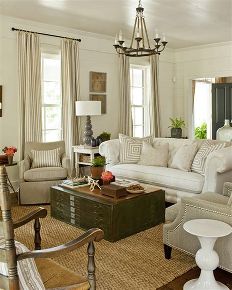 southern living living room file cabinet coffee table cottage living room southern living