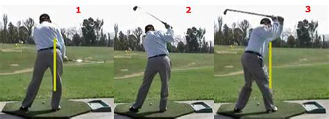 golf swing pivot backswing