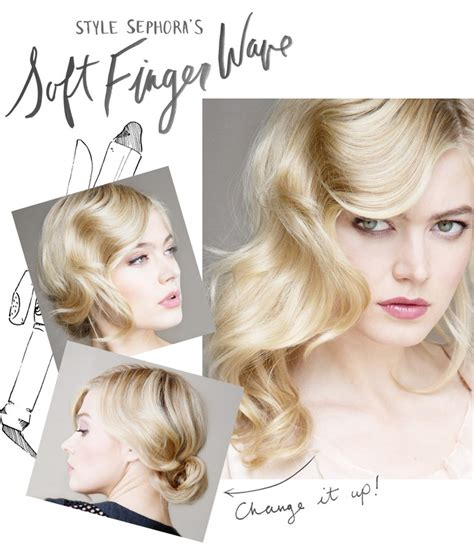 hairstyles for design a friend finger waves 2014 finger wave hairstyles for wedding