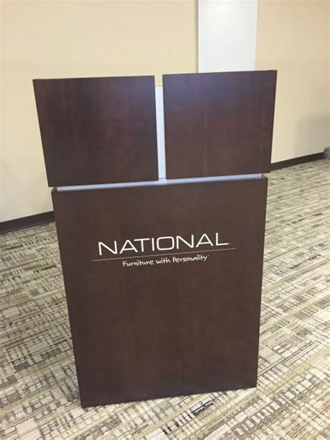 national office furniture jasper in national office furniture jasper in universal basic lectern in a meeting conference room