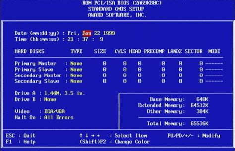 format hard disk using bios software 101