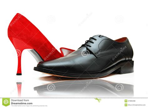 Shoe Unlimited Sr 5003 Black and shoes royalty free stock photos image 21895338