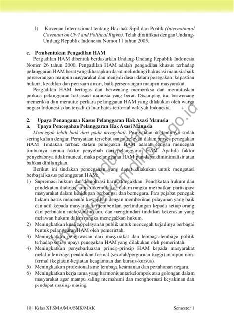 Kesadaran Hukum Manusia Dan Masyarakat Pancasila Buku Hukum pendidikan pancasila dan kewarganegaraan buku siswa