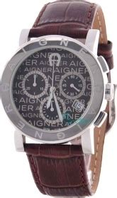 Aigner Cortina Leather aigner cortina brown leather chronograph a26108 skroutz gr