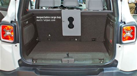 Cargo Space Jeep Jeep Renegade Cargo Space Www Imgkid The Image Kid