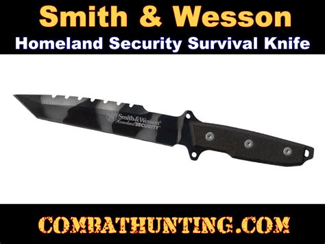 smith and wesson security 3078 smith and wesson homeland security fixed blade knife