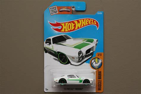 Wheels 73 Pontiac Firebird Putih Hotwheels wheels 2016 mania 73 pontiac firebird white