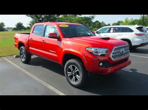 2017 toyota tacoma trd sport 4x4 full tour & start up at
