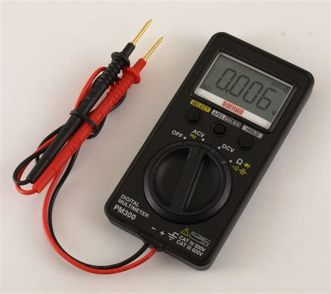 Digital Multimeter Sanwa sanwa pm300 pocket multimeter eevblog