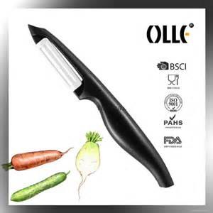 Pisau Set Peeler Alat Kupas Kulit Buah Sayuran Hello olle pisau pengupas buah bahan keramik multi color jakartanotebook