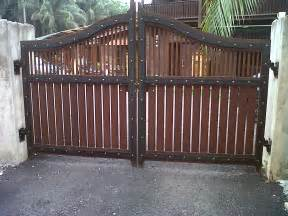 kapsah custom carpentry house main gate 10ft x 6ft rm