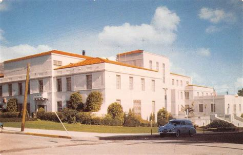 San Luis Obispo Court Search San Luis Obispo California Court House View Vintage Postcard K60279 L