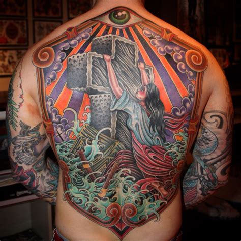 rock of ages tattoo rock of ages backpiece rockofages tattoos i ve
