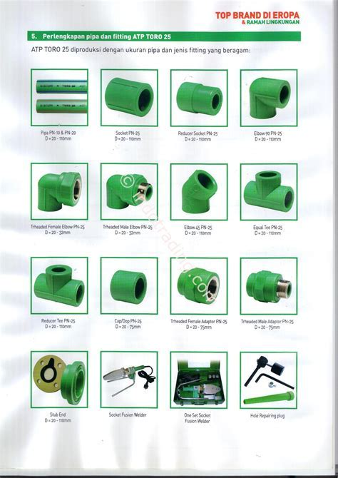 Sell Ppr Pipe Toro from Indonesia by CV. Mitra Usaha