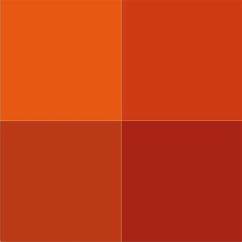 colors that match with orange terracotta orange colors and matching interior design